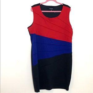 Enfocus Women Striped Dress (D43)